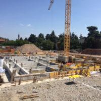 Lavori per la realizzazione della nuova scuola secondaria di primo grado – in Vaprio d'Adda (MI)